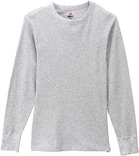 (ヘインズ)Hanes ロングスリーブ Tシャツ BEEFY-T サーマル HM4-Q103 メンズ トップス 長袖 ワッフル