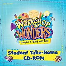 Vacation Bible School (VBS) 2014 Workshop of Wonders Student Take-Home CD-ROM: Imagine & Build with God