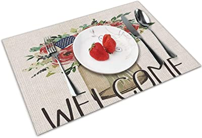 Wedding Birthday Party Personalised American Diner Disposable Table Place Mats