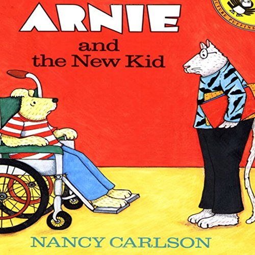 Arnie and the New Kid audiobook cover art