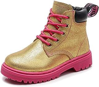 dacc00b9b52b Kids Hiking Boots Boys Girls Shoes Winter Snow Sneaker Outdoor Walking  Antiskid Steel Buckle Sole