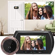𝐍𝐞𝒘 𝐘𝐞𝐚𝐫𝐬 𝐆𝐢𝐟𝐭𝐬Home Visual Doorbell Kit, 4.3in HD Screen Smart Door Viewer Camera Video Doorbell Kit Home Sec...