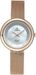 Sinctual Women Watch, Ladies Fashionable Elegant Wristwatch Quartz Movement Watches Wristwatch