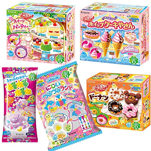 Popin Cookin Assorted DIY Candy kit  Japanese Candy