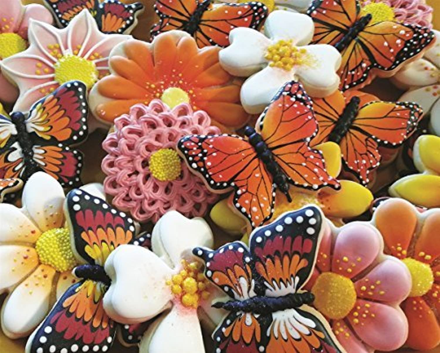 Springbok Puzzles Butterfly Cookies Jigsaw Puzzle (1000 Piece) by Springbok