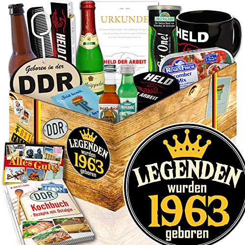 Legenden 1963 / Geschenk für Mann Geburtstag / Ossi Set Mann