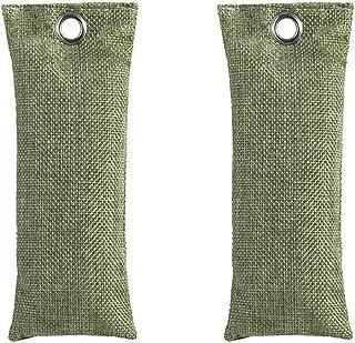 bolsas de purificaci/ón de aire de bamb/ú de Kuori Desodorizador Reutilizable para Zapatos 4 x 75g Bolsas de carb/ón activado autom/óvil y el hogar