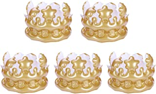 NUOBESTY Inflatable Crown Inflatable Blow up Toy Party Favor Kids Gift 5pcs
