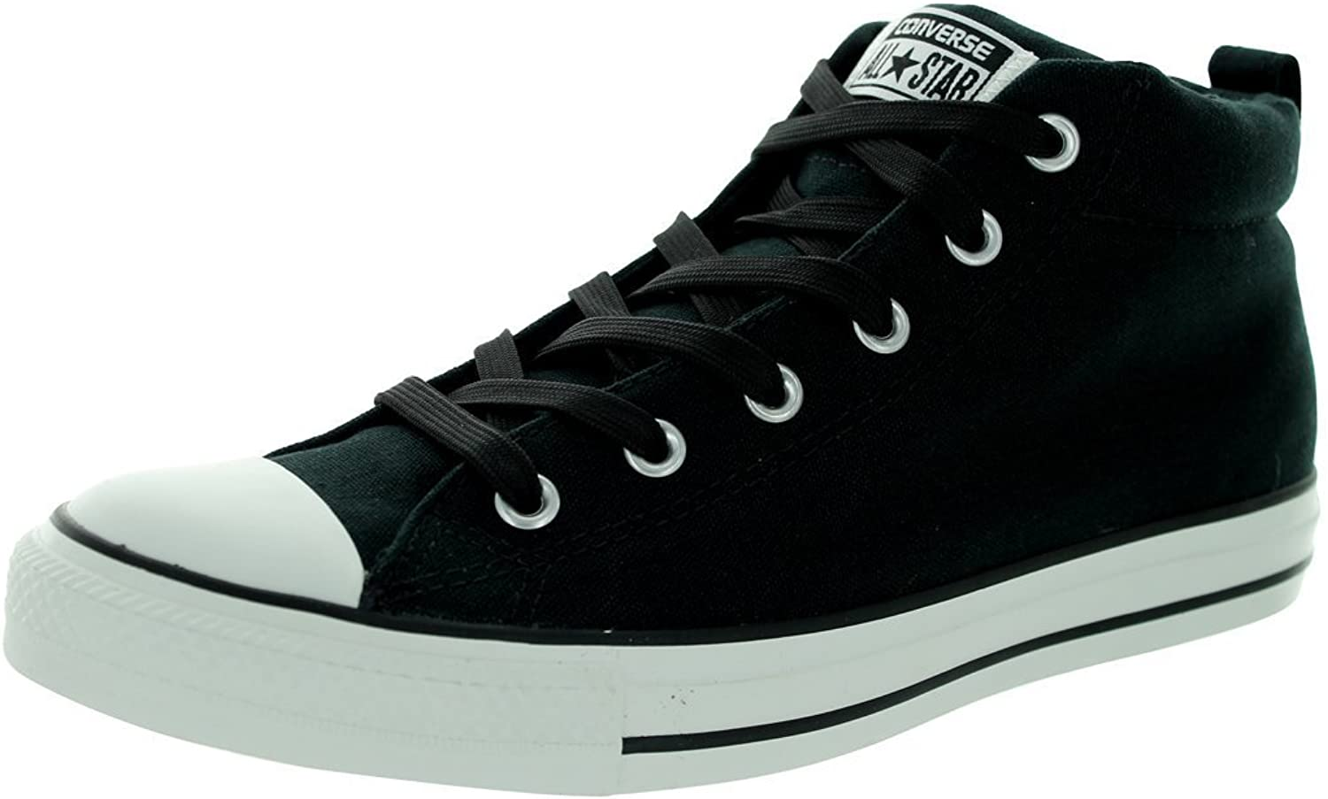 Converse Mens Street Leather Mid Top Sneaker