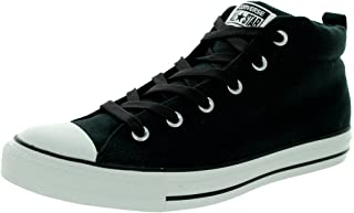 Converse Mens Street Leather Mid Top Sneaker edb396c82