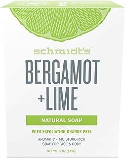 Schmidts Deodorant, Soap Bergamot Lime, 5 Ounce