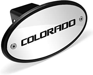 Chevrolet Logo Colorado Chrome Metal Plate 2 inch Tow Hitch Cover