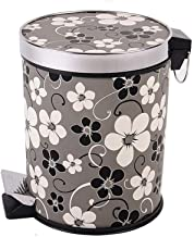 Foot Pedal Recycling Bin Step Trash Can with Lid, Hotel Kitchen Waste Basket Bedroom Bathroom Large Sanitary Bucket Kitche...