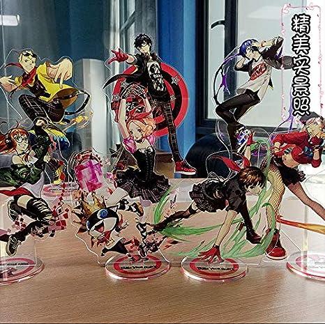 Anime Persona 5 Amamiya Ren 7cm Acrylic Stand Figure Cool Gift