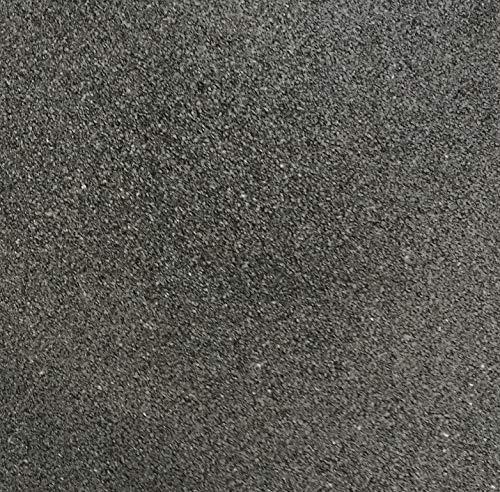 Fallschutzmatte Gummiplatte Elastikmatte | stoßdämpfend, recycling (SBR) | Spielplatzboden Umradung | 50 x 50 cm, 3 cm Stärke