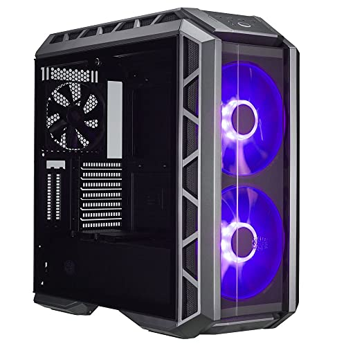 a812bfed0a2 Cooler Master MasterCase H500P ATX Mid-Tower Case with Two 200mm RGB Fans  in The