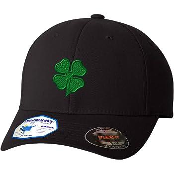 InterestPrint Green Background for St.Patricks Day Unisex Baseball Cap Vintage Adjustable Hat