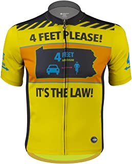 ATD 4 Feet Passing Zone - It's The Law - Cycling Jersey - Made in USA