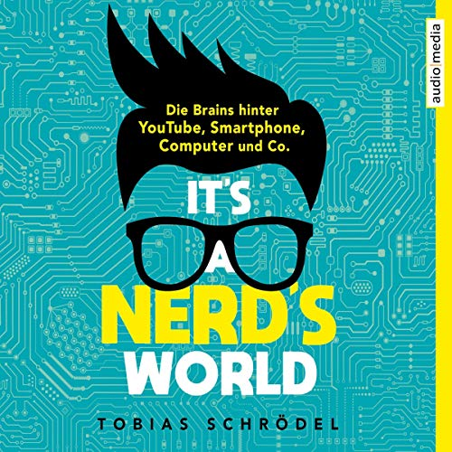 It's A Nerd's World audiobook cover art