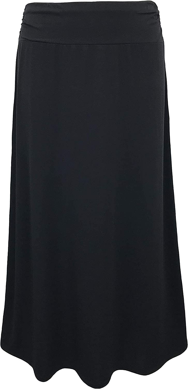 LEEBE Women and Plus Size Maxi Skirt (Small-5X)