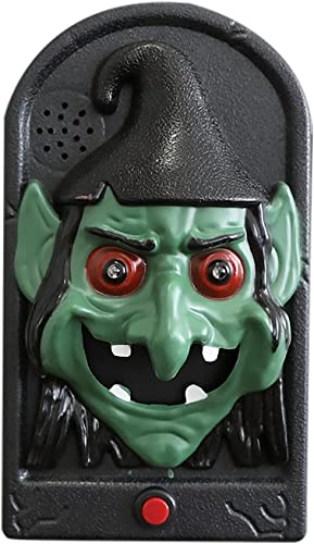 popular RiamxwR Halloween Doorbell, Halloween Luminous Ghost/Skull Doorbell, Haunted House Halloween Party discount Prop Decoration, Trick-or-Treat Event online sale for Kids (Style C) online sale