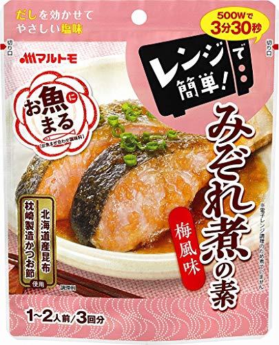 マルトモ お魚まる みぞれ煮の素 40g×3 まとめ買い(×10)