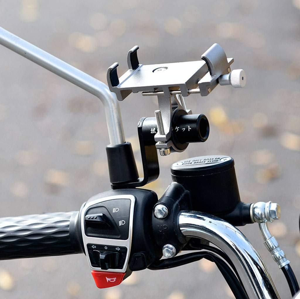 Bove Bicicleta MTB Plegable Soporte del Teléfono Bicicleta De Montaña Coche Paseo Diseño De Mecánica Pesada De Tres Garras Máquina A Prueba De Golpes Navegación Estable Apoyo-I: Amazon.es: Deportes y aire libre
