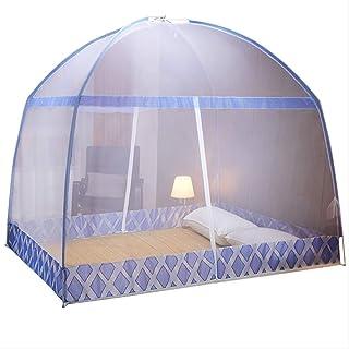 Mosquitera Mongolia de instalación gratuita de 1,22 m, color rojo 2019, cama de 1,5m, cama familiar 1,8; dormitorio de estudiante doble