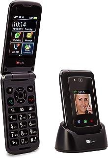 الجيل الثالث مع واتساب وشاشة تعمل باللمس وقائمة أندرويد مبسطة TT950 الهاتف المحمول فليب الفائق تي تي فون تايتان