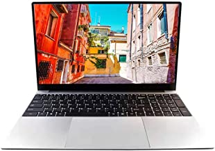 15.6 inch Notebook Laptop Coputer PC, Intel M-5Y51 CPU, Windows 10 Pro, 8GB RAM 128GB SSD, Full HD 1920 x 1080, Webcam, 55...