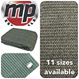MP Essentials transpirable e impermeable al aire libre suelo campaña alfombra, color  - GREEN & GREY, tamaño 2.5 x 5.5m