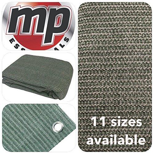 MP Essentials transpirable e impermeable al aire libre suelo campaña alfombra, color - GREEN & GREY, tamaño 2.5 x 5.5m