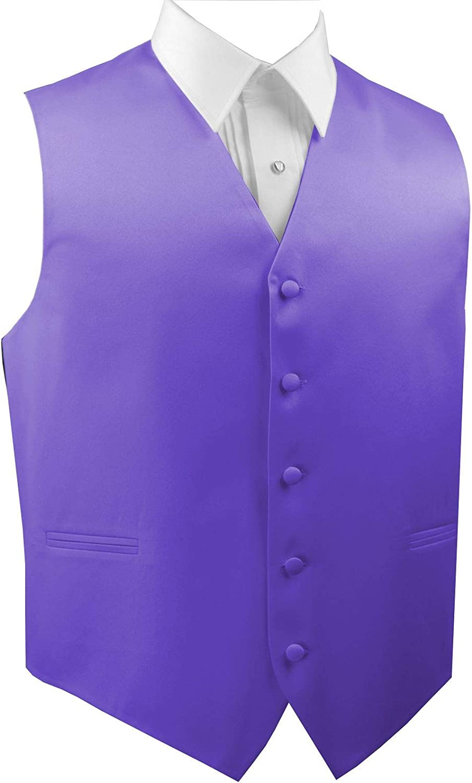 Italian Design Men's Formal Tuxedo Vest in Freesia