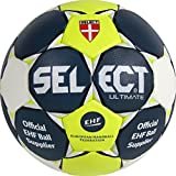 Select Ultimate Ballon de Handball 2 Bleu/Jaune/Blanc