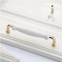 GAXQFEI Deurklink kast deurklink witte keramische deurgrepen moderne niture knoppen zinklegering keramische trekt keuken k...