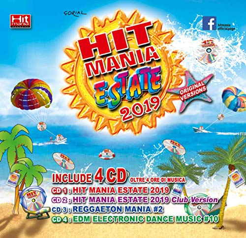 Hit Mania Estate 2019 (Box 4 Cd + Rivista)