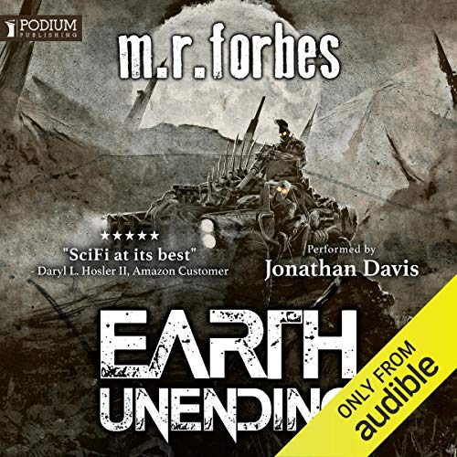 Earth Unending audiobook cover art