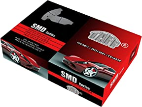 SMD - 2017 fits Kia Niro Touring Launch Edition Front Semi Metallic Brake Pads With One Year Manufacturer Warranty - Hardware Kits Not Included