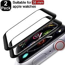 FANIER Protector Pantalla para Apple Watch 38mm Serie 3/2/1 Cristal Templado [Alta sensibilidad] para Suave Protector para Apple Watch 38mm Serie 3/2/1 [2 Piezas]