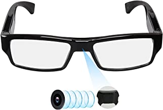 Spy Camera Glasses with Video Support Up to 32GB TF Card 1080P Video Camera Glasses..