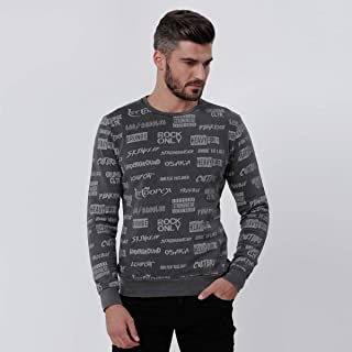 Lee Cooper Sweatshirts For Men, Grey XL