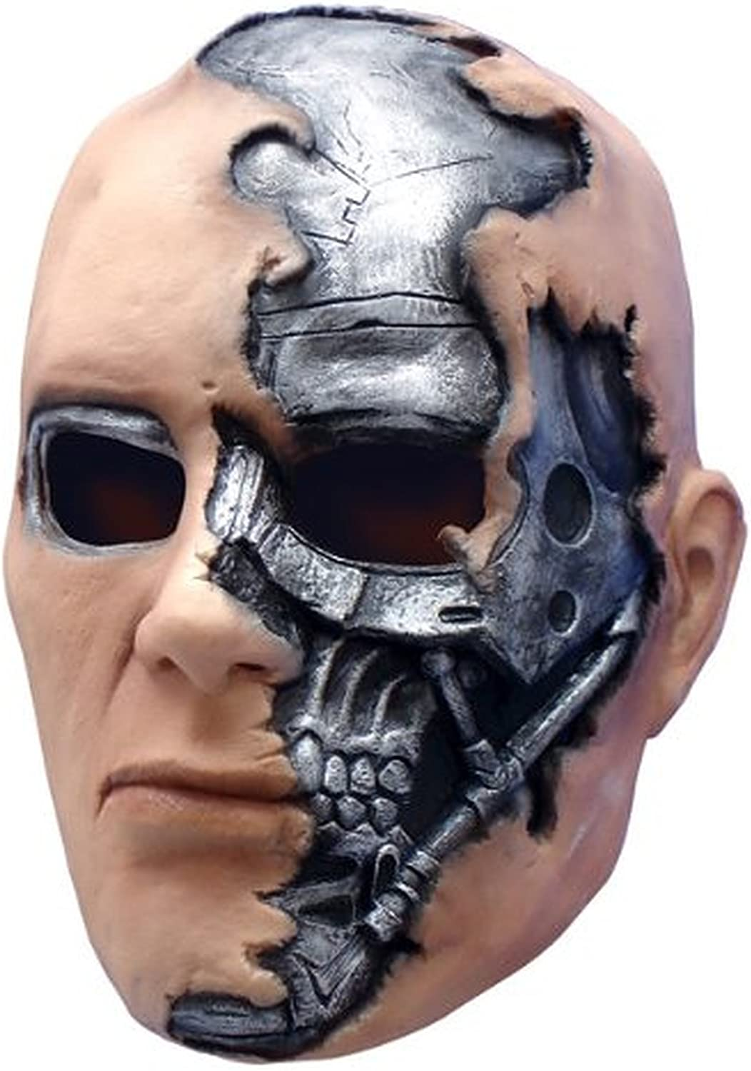T600 Terminator Mask Costume Accessory by Unknown