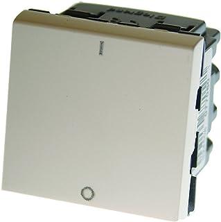 /Color gris Legrand 790069980/ /Interruptor bipolar IP55/