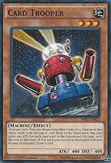 Yu-Gi-Oh! - Card Trooper (SR02-EN023) - Structure Deck: Rise of the True Dragons - Edition - Common