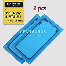 CENTAURUS Replacement for HTC U11 Back Cover Adhesive (2pcs) Back Rear Cover Battery Cover Sticker Adhesive Glue Tape HTC U11 U-3w U-3f U-3u 5.5