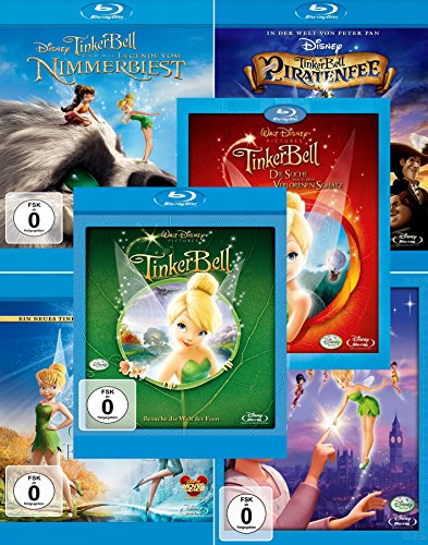TinkerBell 1 - 6 Collection [6-BluRay]
