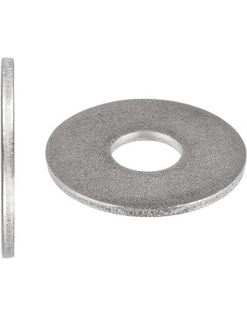 ACCIAIO inox piatto Penny Rondelle Di Riparazione M4 M5 4mm 5mm 15mm 20mm Confezione da 10 20 30