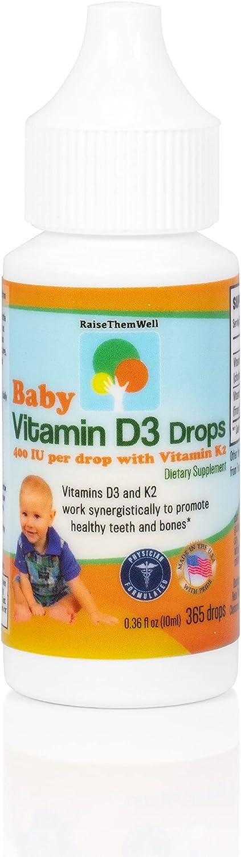 Raise Them Well- Vitamin D Ranking Max 61% OFF TOP20 and for K Health Teeth Drops Bone