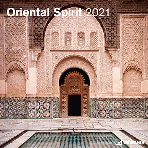 Oriental Spirit 2021 - Wand-Kalender - Broschüren-Kalender - 30x30 - 30x60 geöffnet