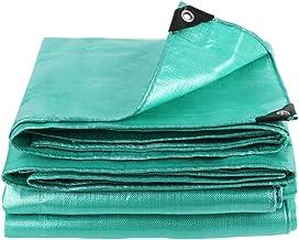 Wang Heavy Duty dekzeil waterdichte grond tent aanhangwagen cover in meerdere maten, lichtgroen, 180G/M², 0.35mm kwaliteit...